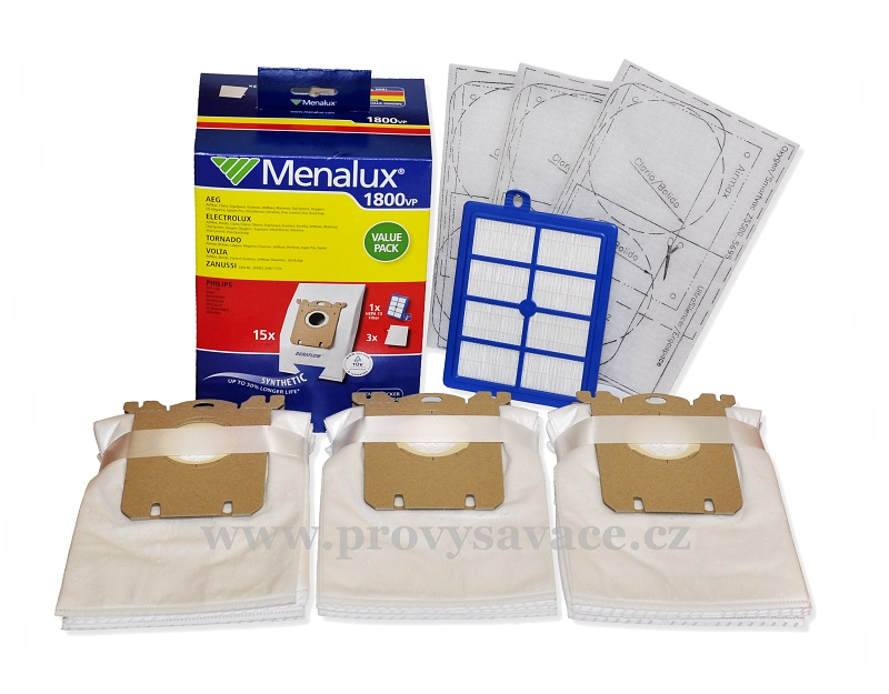Sada sáčků a filtrů Menalux 1800VP