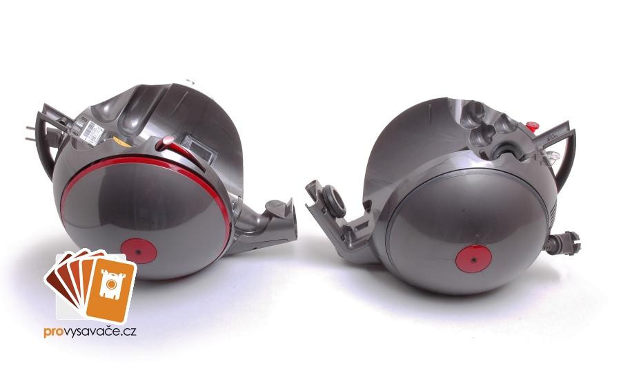Dyson BigBall rozdíl v motorových částech