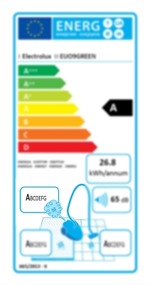 energetický štítek - emise