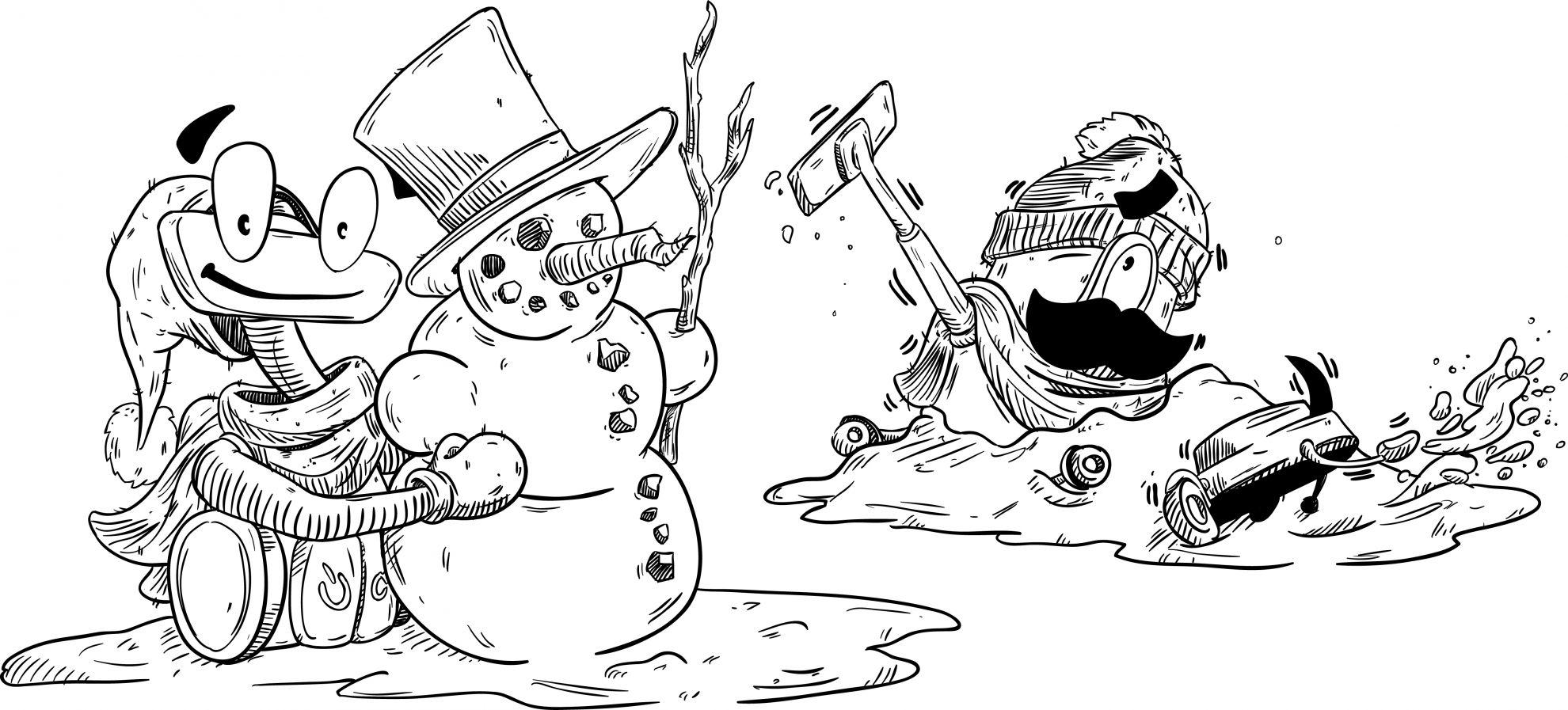 Luxík a zima