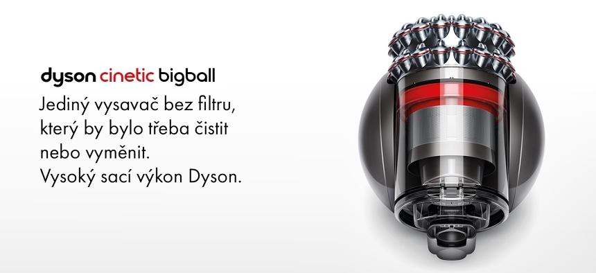 Vysavač Dyson Cinetic Big Ball Absolute 2
