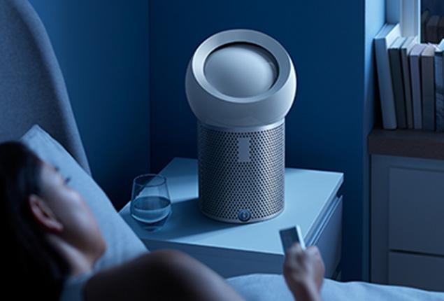 Osobní čistička vzduchu Dyson Pure Cool Me BP01 noční provoz