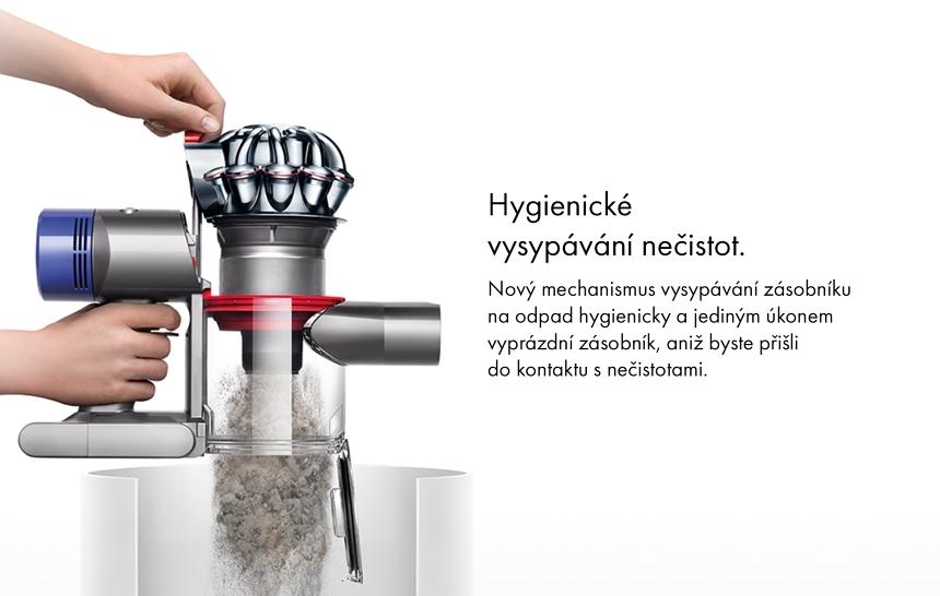 Hygienicky vysypávanie nečistot