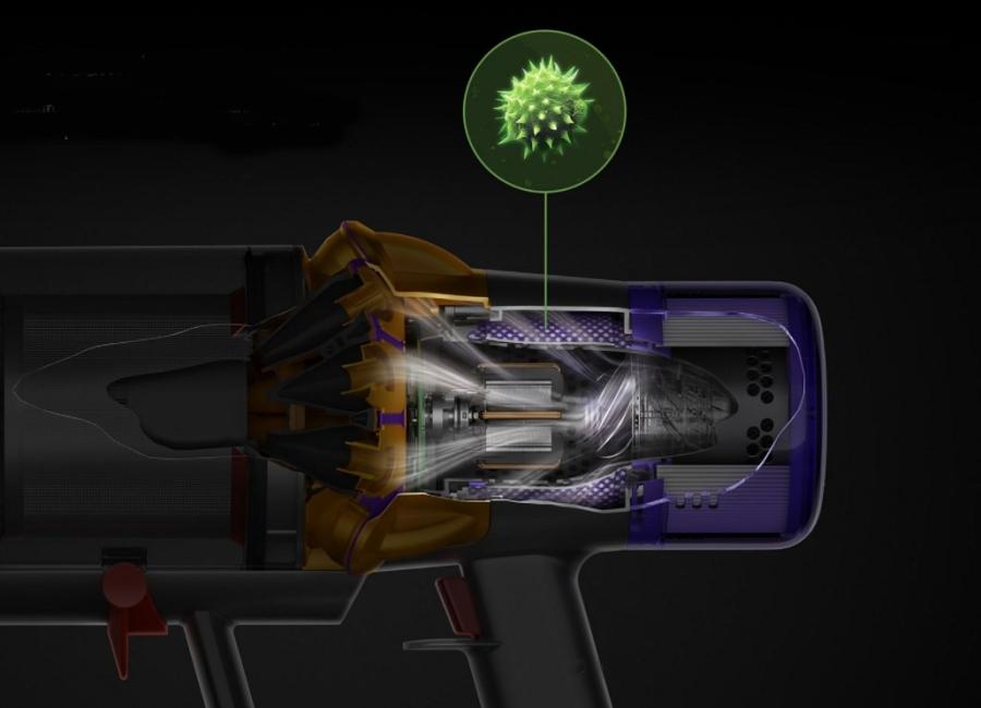 Výstupní mikrofiltr Dyson