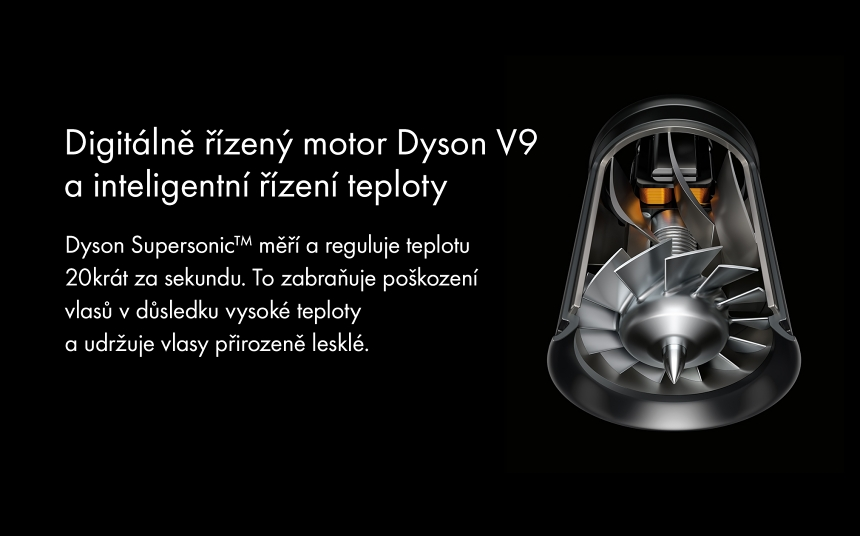 Fén Dyson Supersonic motor