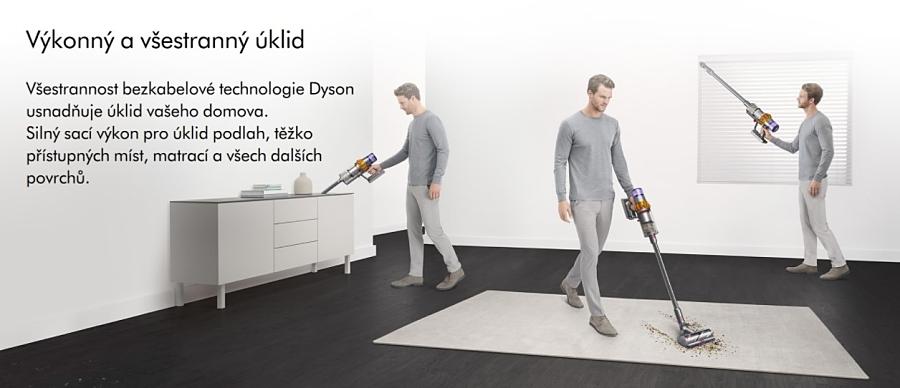 Praktický Dyson V15