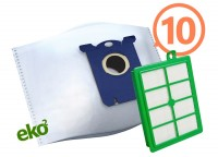 2SBAG MAX sáčky textilní 10x + HEPA filtr do vysavačů Electrolux a Philips