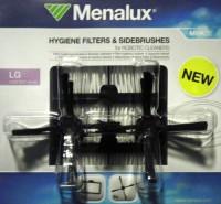 3x hygienický filtr a 6x metličky pro robotický vysavač LG Hom-Bot série MRK03