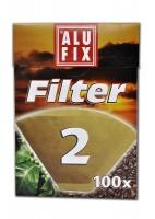 filtry na kávu velikost 2 (100ks)