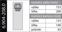 Kärcher Papírové sáčky 6.904-208 5 ks