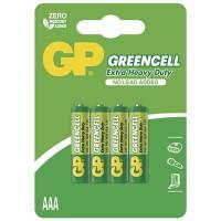 GP Zinkochloridová baterie reencell R03(AAA),4 ks v