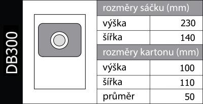 Sáčky do vysavače Gallet ASP 300 a ASP 305  d60c1f7c62
