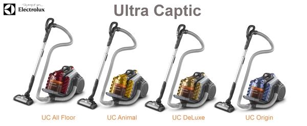 Bezsáčkový vysavač Electrolux Ultra Captic