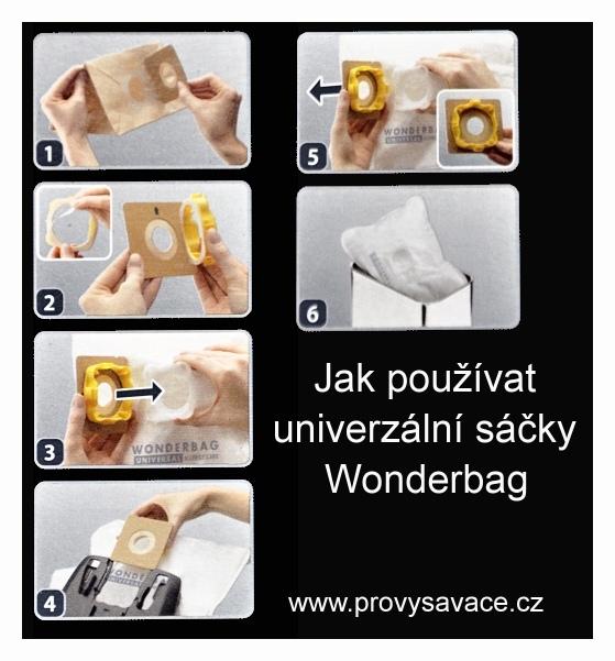 Návod jak použít přírubu wonderbag