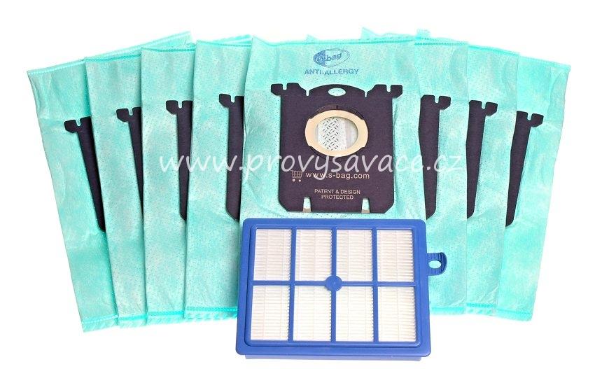 S-Bag sáčky a Hepa filtr